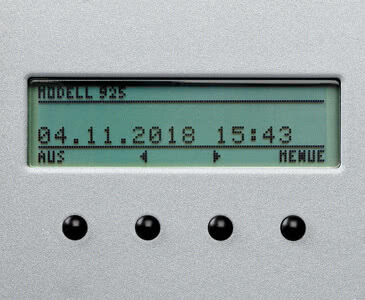 LCD-Anzeige ChronoDater 920