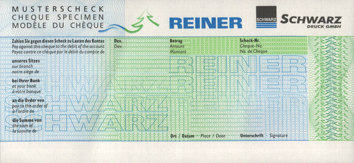 REINER RS 900 - application example: receipt, color, switch scanner