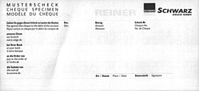 REINER RS 900 - application example: prints on paper, receipt