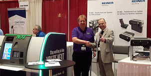 REINER presents its scanner business area at the world's largest ATM conference