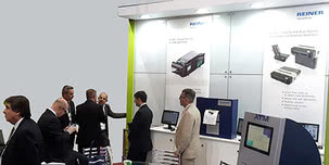 REINER presented the new RS 980 scanner at the CIAB congress in Brazil